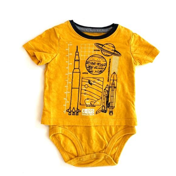 3/$25 Oshkosh B'Gosh Baby Boy Graphic Onesie